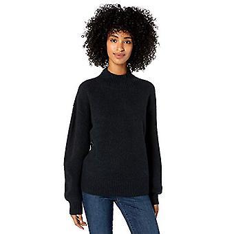 ブランド - グッドスレッド女性&アポス;sブークルシェイカーステッチバルーンスリーブセーター、ブラック、XX-ラージ