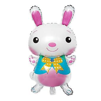Süße Cartoon Kaninchen-Aluminium Filmballon für Ostern Party Dekoration