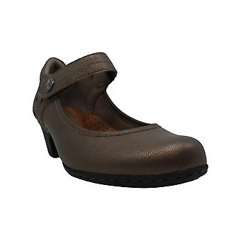 Rockport Cobb Hill Collection Womens Abbott Leather Closed Toe Mary Jane Pumps