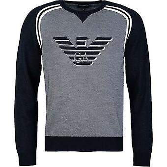 Armani Eagle Logo Knit