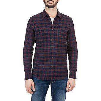 Replay Men's Chemise flanelle à carreaux