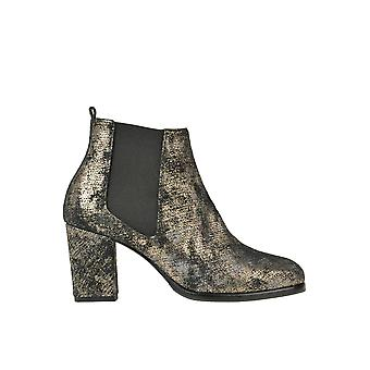 Rose 'S Roses Ezgl532003 Femmes's Bronze Leather Ankle Boots