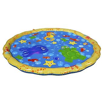 100cm Summer's Outdoor Garden Play Jeux d'eau- Plage Mat Spray Water Lawn
