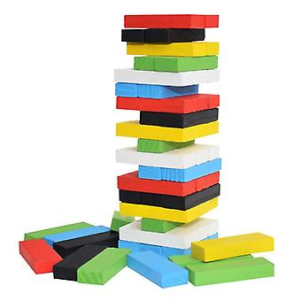 Creative Novel Wooden Digital Building Block Brain Game, Entertainment