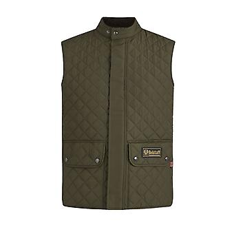 Belstaff Quilted Gilet Faded Olive