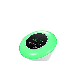 Multifunctionnal Touch Screen LED Mirror Temperature Clock Green