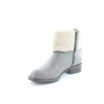 Style & Co. Womens Bettey Leather Almond Toe Ankle Fashion Boots