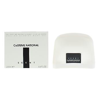 Costume National Scent Cooling Scented Body Gel 200ml For Her NEW.