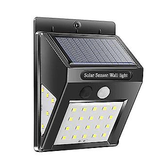 Waterproof 20 Led Motion Solar Sensor Light - Wall Outdoor Garden Yard Streets