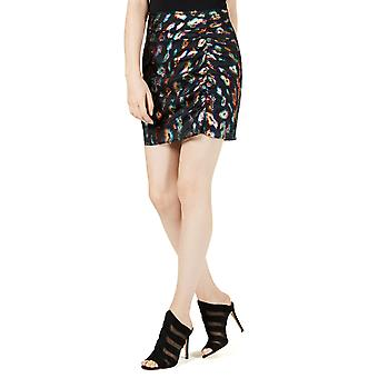 Guess   Animal Print Mini Skirt
