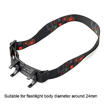Headband Belt Strap Mount Holder Stand For Diameter 22 To 30mm