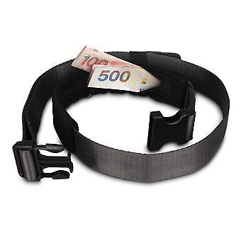 Pacsafe Cashsafe 25 Anti-Theft Deluxe Travel Belt Wallet - Black