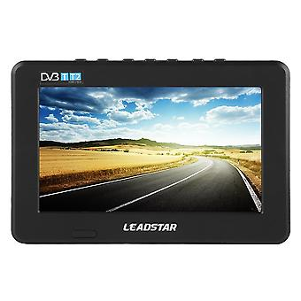 Leadstar 7 Inch Hd Portable Tv Dvb-t/t2 Car Digital Analog Television Mini Small Car Tv With Holder Tf-card Monitor For Ps4