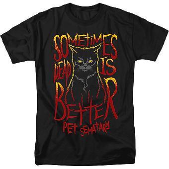 Sometimes Dead Is Better Pet Sematary T-Shirt