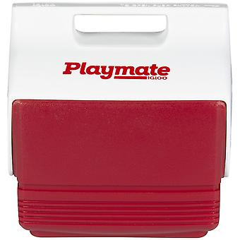 IGLOO Playmate Mini 4 qt. Hard Cooler - Red/White