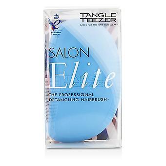 Salon Elite Professional Detangling Hair Brush - Blue Blush (for Wet & Dry Hair) - 1pc