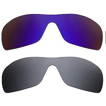 Replacement Lenses for Oakley Batwolf Sunglasses Multi-Color Anti-Scratch Anti-Glare UV400 by SeekOptics