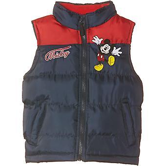 Boys Disney Mickey Mouse Gilet