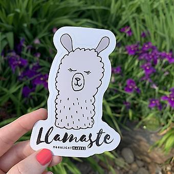 Llamaste Die Cut Sticker