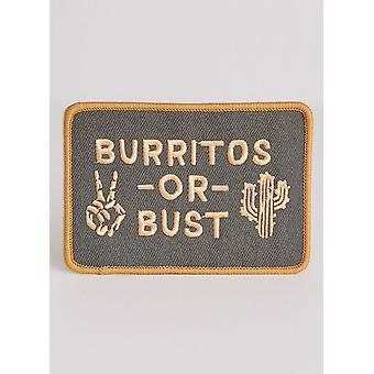 Burritos Or Bust Patch