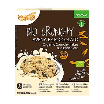 Bio crunchy oats and chocolate 375 g