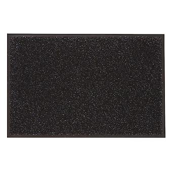 Likewise Washamat + Border Charcoal 90cm x 60cm