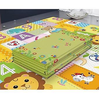 Taitettava vauvan leikkimatto paksunnettu teippi Infantil Home Baby Room Sisustus - Play