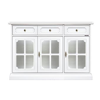 Classic sideboard 3 doors showcase 'Luxory;;