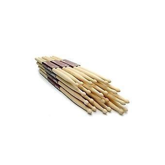 12 Drum Sticks (6 Paare) 5a Drumsticks Ahorn hochwertiges Holz