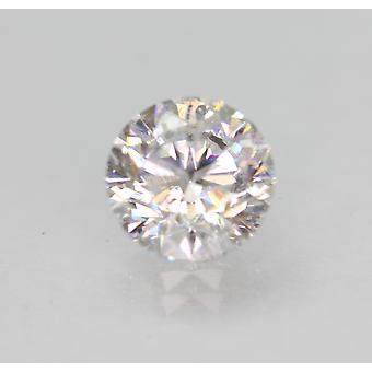 Sertifioitu 1,53 karat D VS2 pyöreä brilliant parannettu luonnollinen löysä timantti 7,16mm