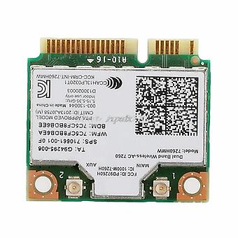 Dual Band Wireless-ac 7260hmw Mini Pci-e Bt4.0 -kortti Intelille Hp Sps:lle