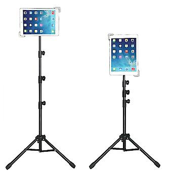 1.65m Stand Tripod Mount Adjustable Holder for iPad Tablets 9.5 to 14.5 inches