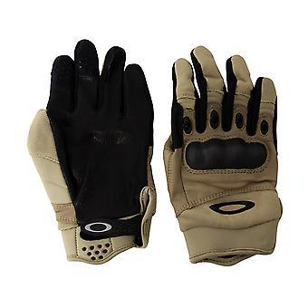 Oakley Factory Pilot Unisex Outdoor Gloves Goat Skin Leather Khaki 94025 323