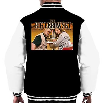 The Big Lebowski The Dude och Walter Bowling Alley Men's Varsity Jacket