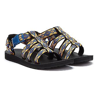 Teva Original Dorado Womens Blue / Orange Sandals