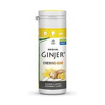Ginjer Lemon gum 30g STEVIA 30 g