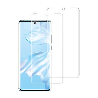 (huawei P30 Pro) Kırılmaz 3d Eğri Ekran Koruyucu (2 Paket)