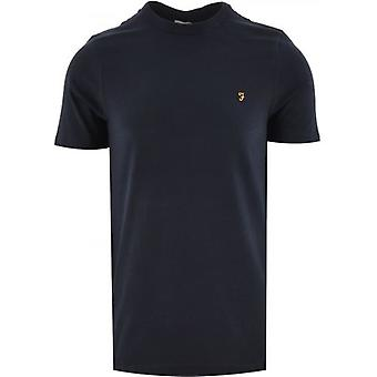 Farah Navy Danny Kortärmad T Shirt