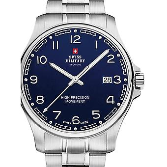 Reloj masculino militar suizo por Chrono SM30200.18, cuarzo, 39 mm, 5ATM