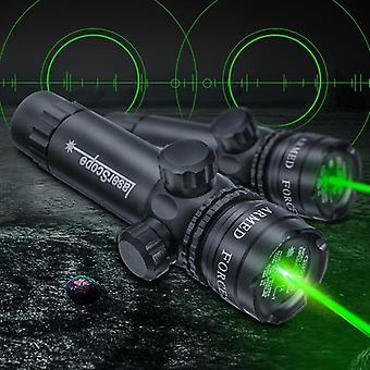 الصيد الأخضر نقطة الليزر ضوء ضوء نطاق البصر