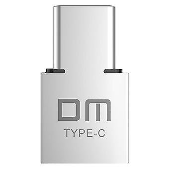 Dm  Type-c Usb-c Connector Type C Male To Usb Female Otg Adapter Converter
