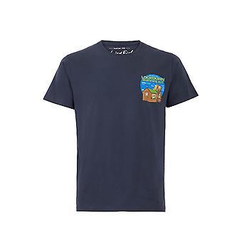 Survival Kit Organic Artist T-Shirt Navy