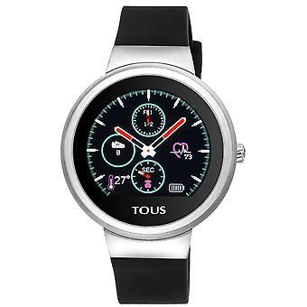 Tous watches rond watch for Women Analog Quartz with Silicone Bracelet 000351680