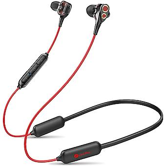 Upgraded Quad Drivers 16H Playtime Bluetooth 5.0 Earphones with Microphone