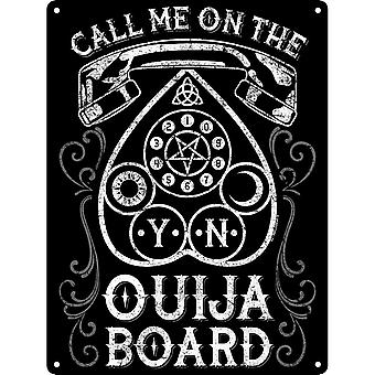 Grindstore Call Me On The Ouija Board Mini Plaque