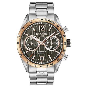 Roamer 510902 49 64 50 Superior Chrono II watch 42 mm