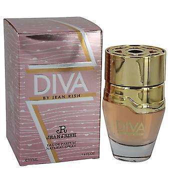 Diva By Jean Rish Eau De Parfum Spray By Jean Rish 3.4 oz Eau De Parfum Spray