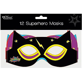 Anchor maskers superhero, pack of 12 n/a