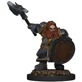 D&D Icons of the Realms Premium Dwarf Fighter Male