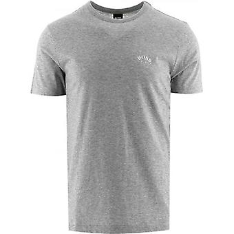 BOSS Grey Tee Curved T-Shirt